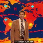 Брэд Питт выступил в роли ведущего прогноза погоды