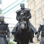 В центре Лондона появились «белые ходоки» из Игры престолов