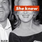 На улицах Лос-Анджелеса появились плакаты с Мерил Стрип с надписями «Она знала»