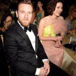 Юэн МакГрегор и Мэри Элизабет Уинстэд на церемонии Critics' Choice Awards