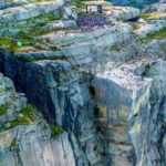 Фильм Миссия невыполнима-6 показали на 600-метровой скале
