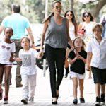 Анджелина Джоли удивила родительский комитет школы карате
