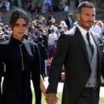 Виктория и Дэвид Бекхэмы на королевской свадьбе