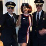 Синди Кроуфорд и Кендалл Дженнер на ежегодной Хэллоуин-вечеринке Джорджа Клуни